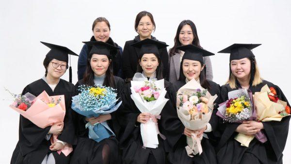 2021년 2월 상담심리학과 학위수여식